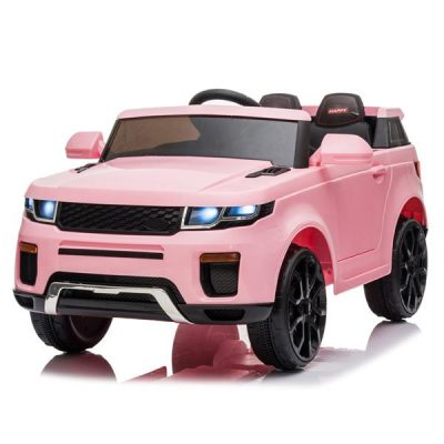 Chargeable Car for Kids 12V Remote Control 2.4GHZ USB LED Lights Pink All Products