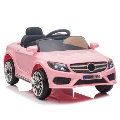 Childrens Remote Control Car LED Lights 12V 2.4GHZ Pink All Products