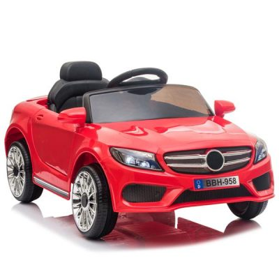 Childrens Car Remote Control LED Lights 12V 2.4GHZ Luscious Red All Products