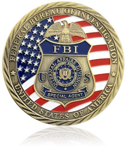 US FBI Special Agent Saint Michael Challenge Commemorative Coin All Products
