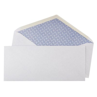 White V Flap No 10 Peel and Seal Security Business Personal Office Envelopes Packs of 10 All Products